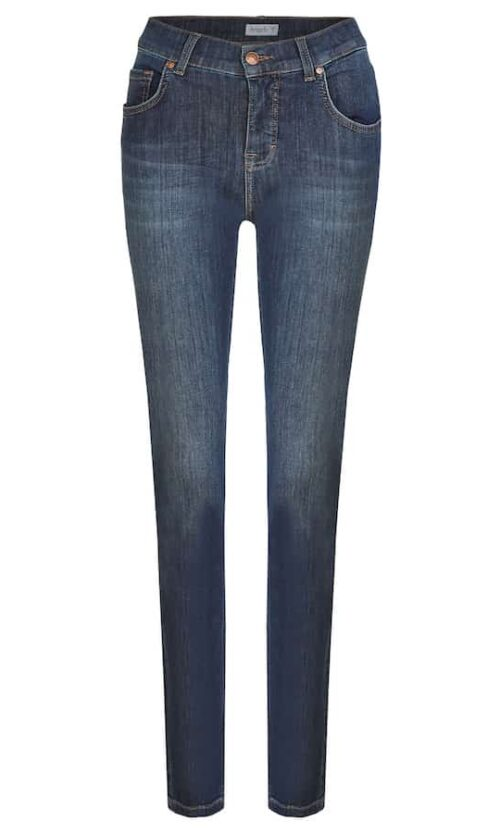 Angels Skinny Dark indigo used buffi 33312