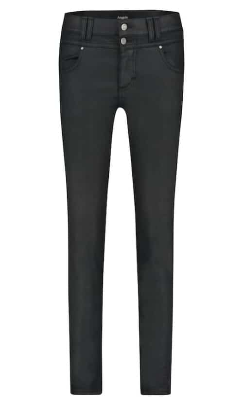 Angels Skinny Button Black