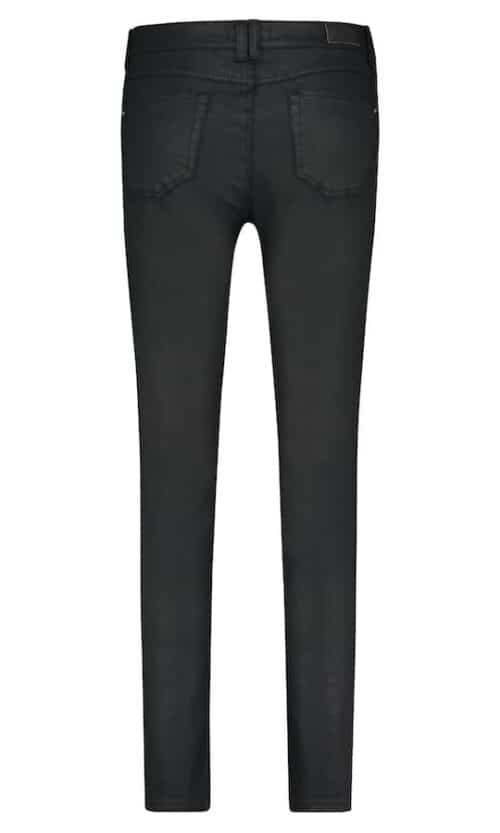 Angels Skinny Button Black achterkant